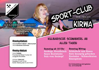 Sport-Club Kirwa am 9. und 10. August