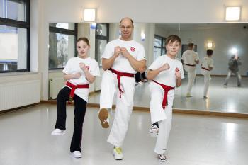 Sarah Bottler, Trainer Matthias Fischer, Mika Neufeld